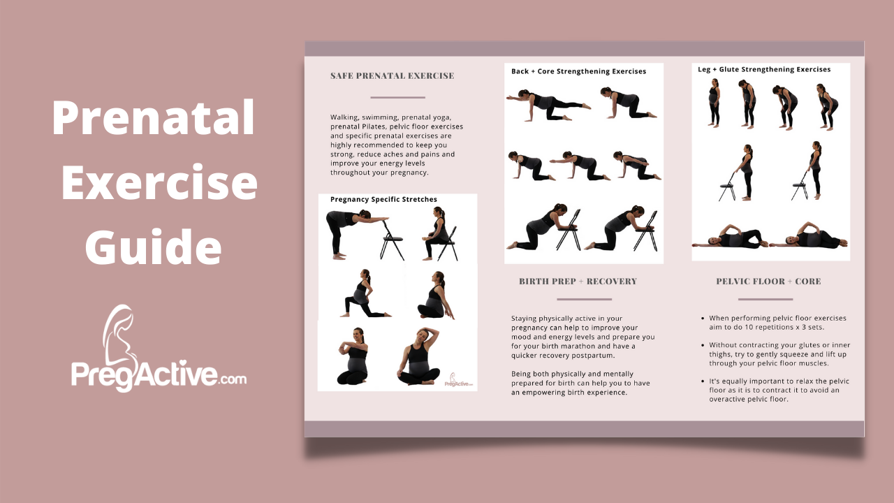 Obstetrician Prenatal Exercise Guide