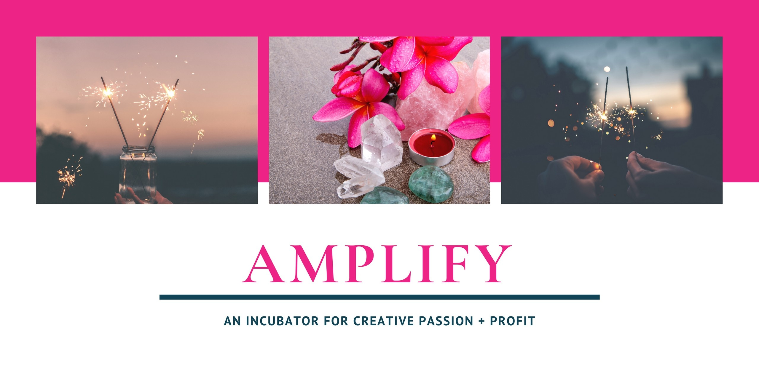 Amplify: A digital course to help you connect to your creativity