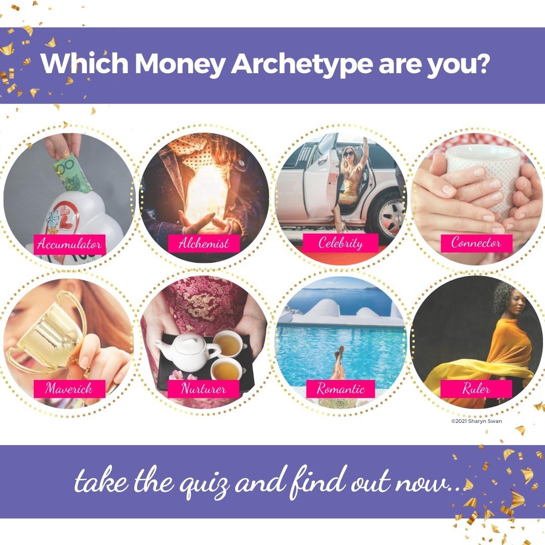 money archetypes quiz