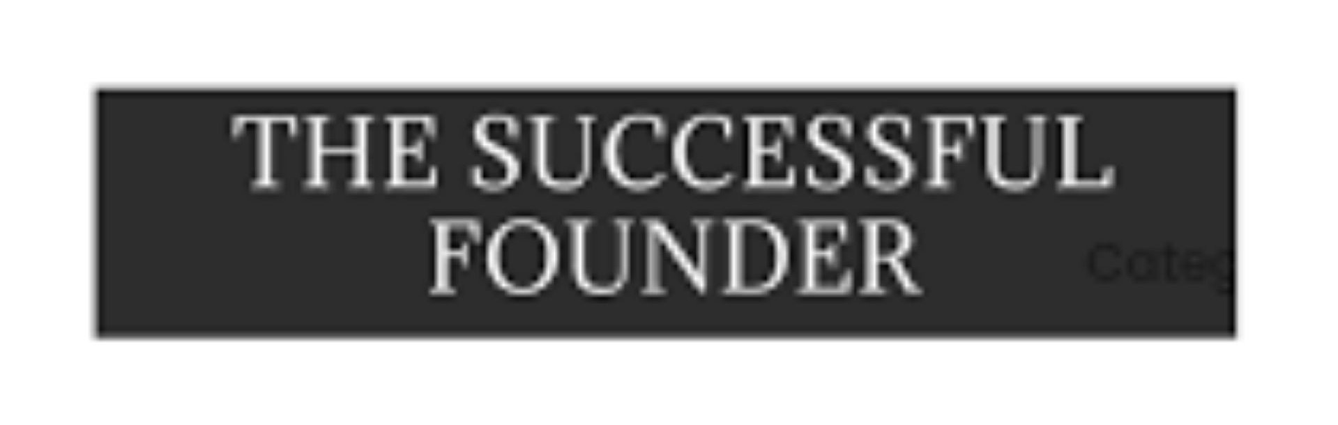 The successful founder logo
