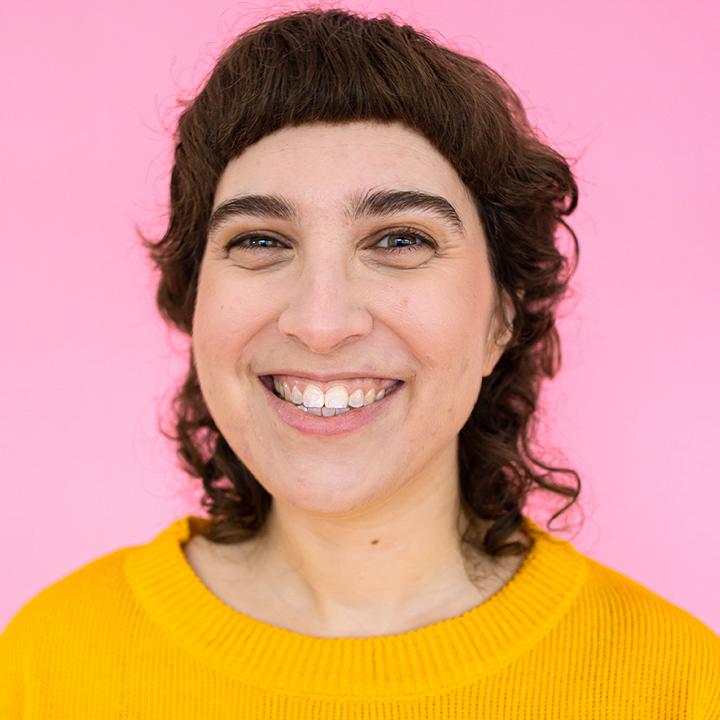 Portrait of Renée smiling