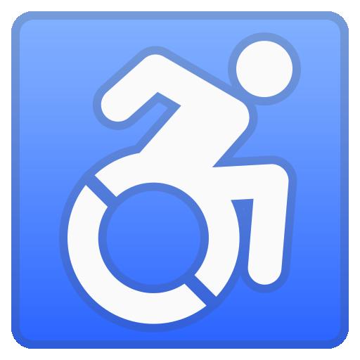 self-propelled wheelchair emoji