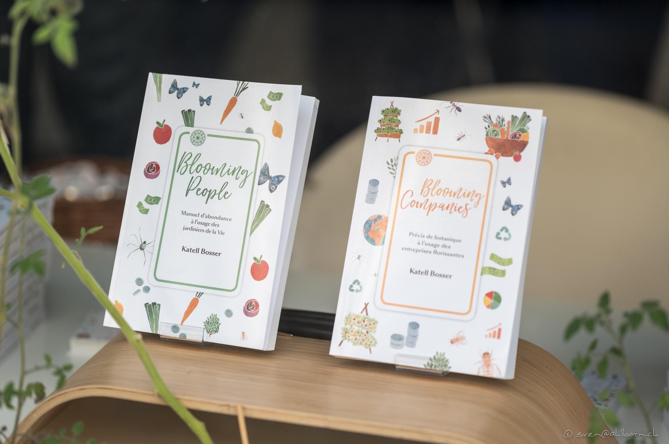 Les livres Blooming People et Blooming Companies
