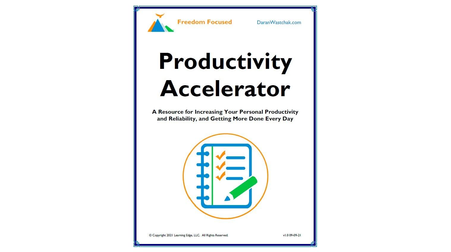 Productivity Accelerator