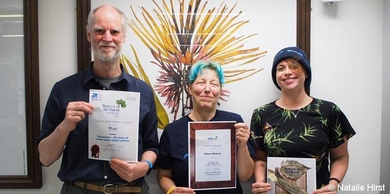 Seasearch award winners