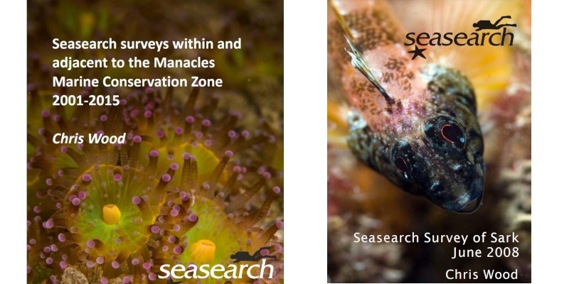 Covers from Seasearch reports