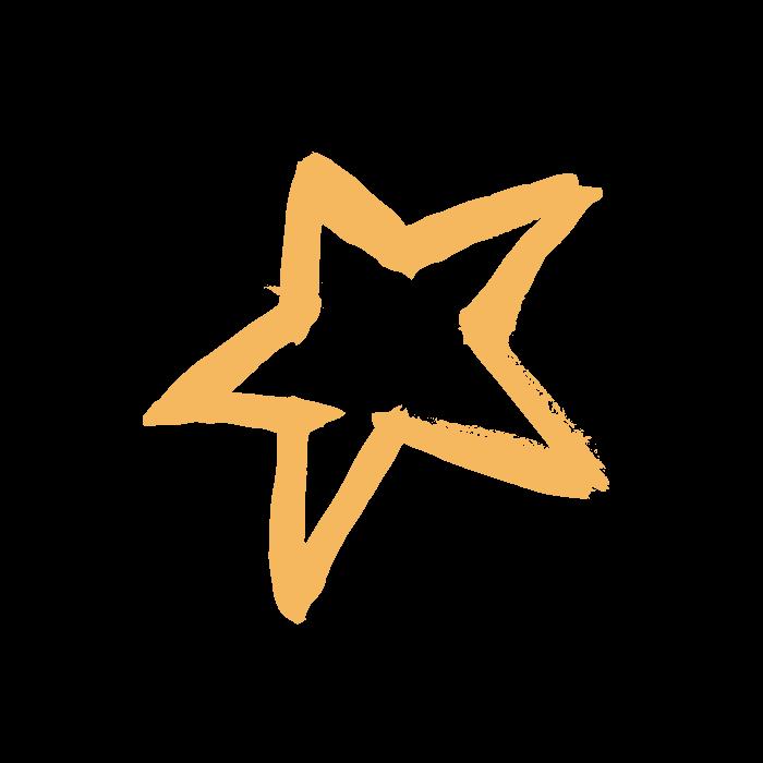 Orange BizKidz star
