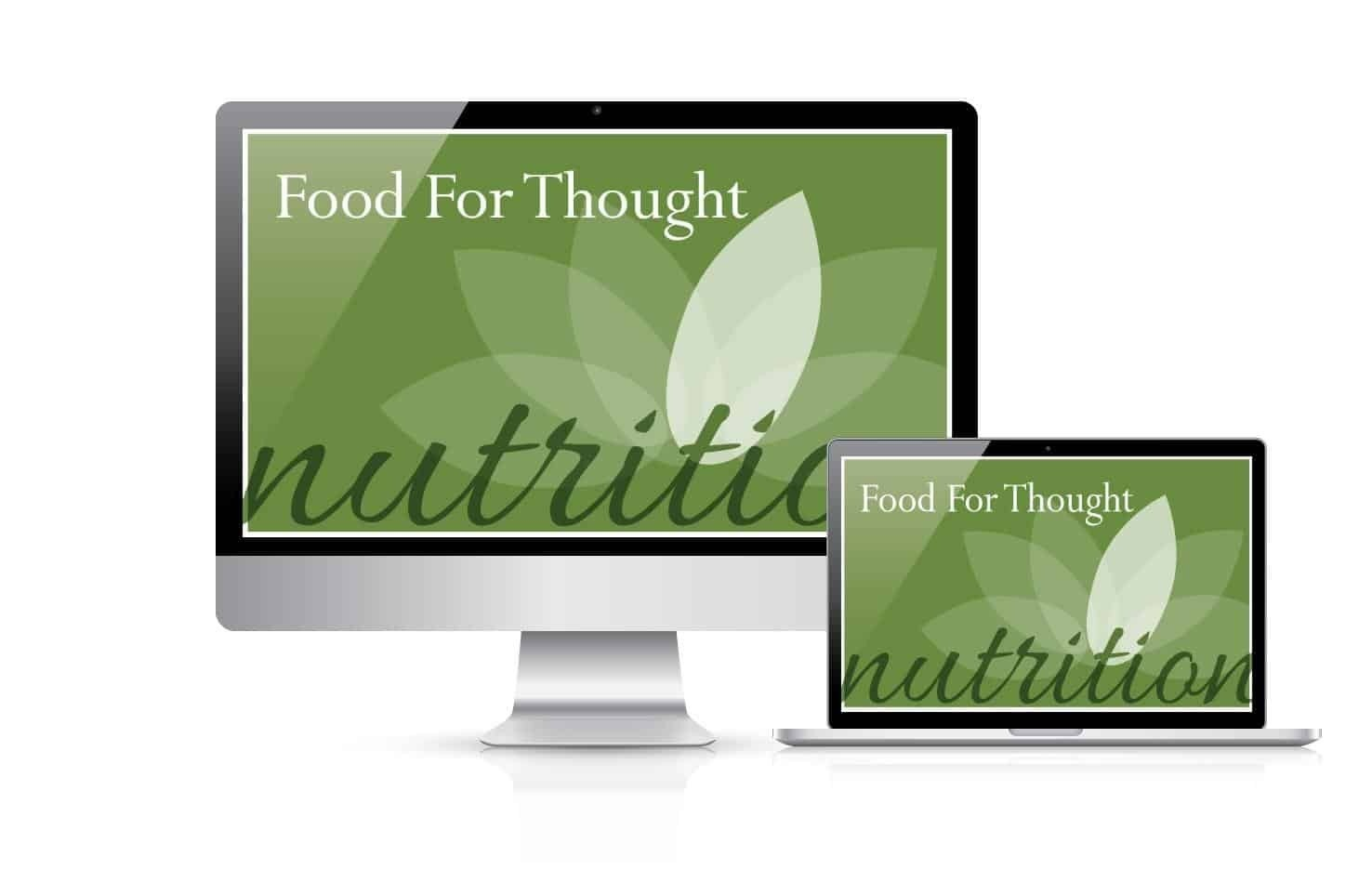 Balance of B'ing Food for Thought