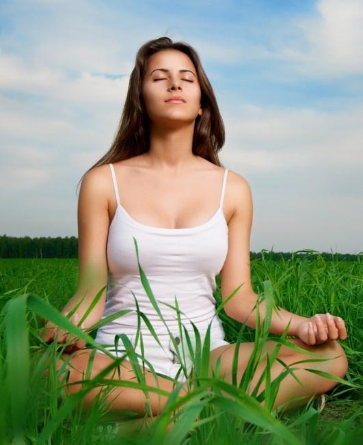 Meditation masterclass future self visualisation healing journey women sitting