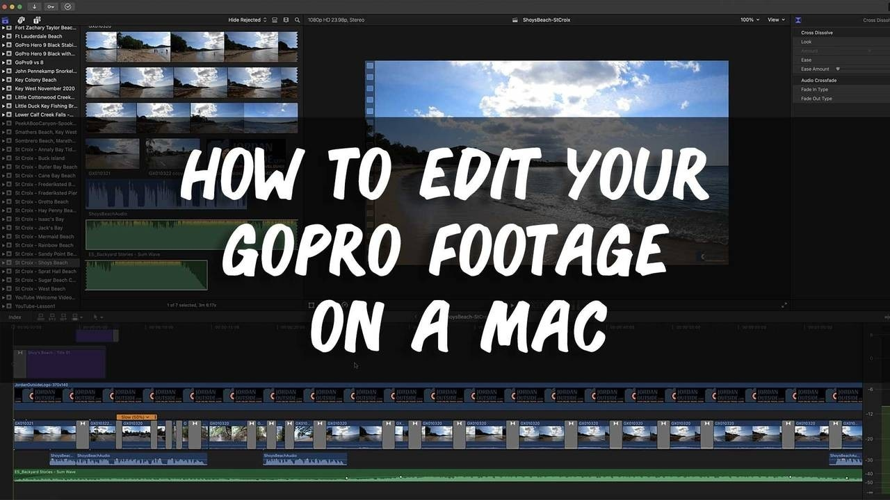 How to Edit Your GoPro Footage on a Mac - Course Preview