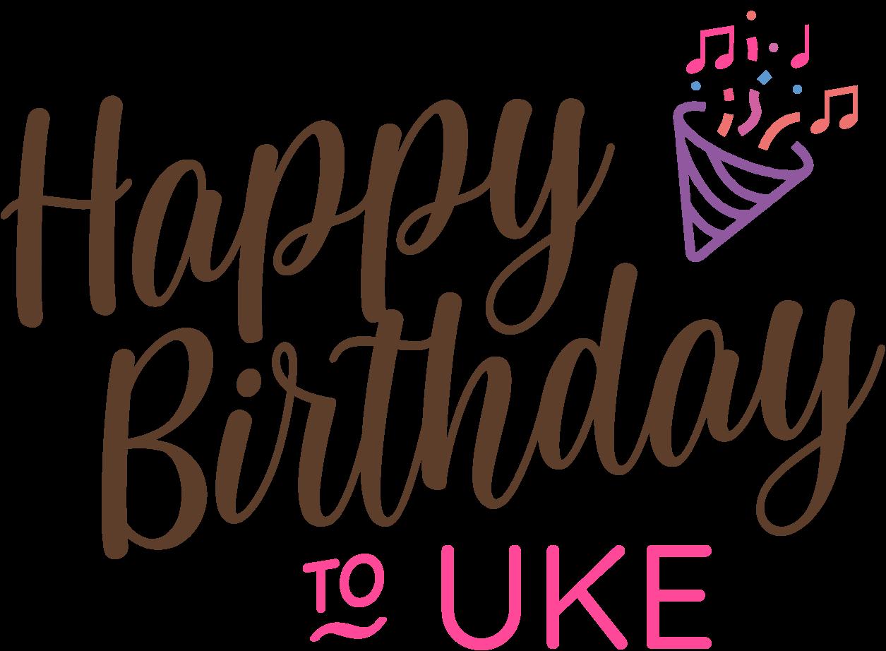 Happy Birthday to Uke