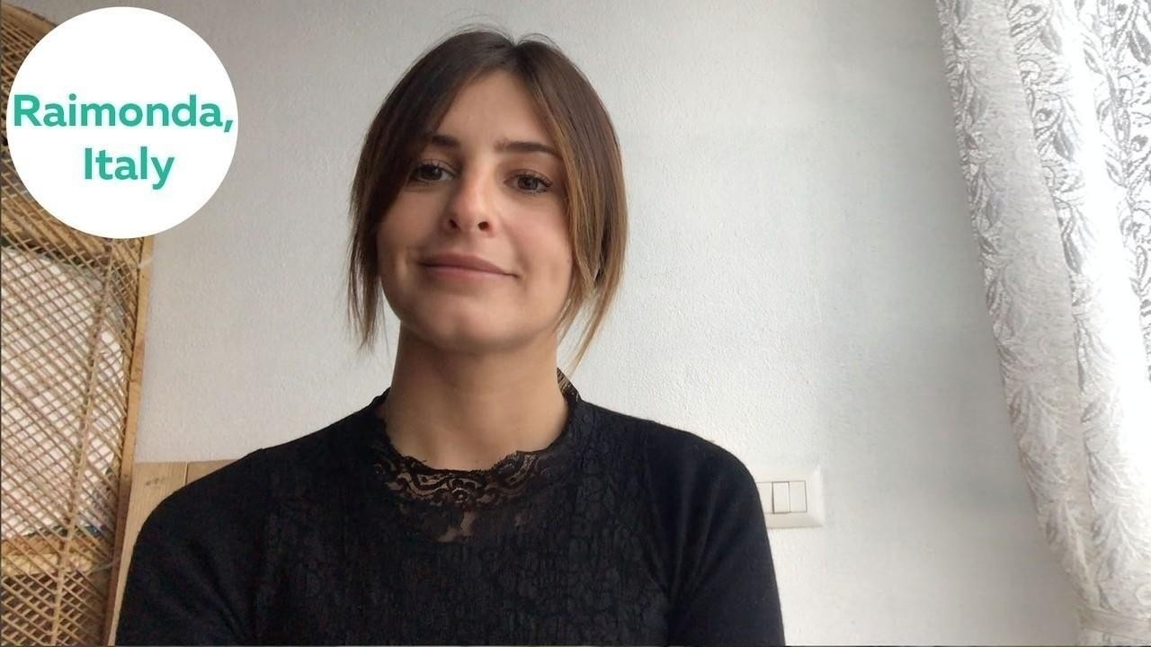 Raimonda from Italy shares her success story after joining the English-Everyday speaking course