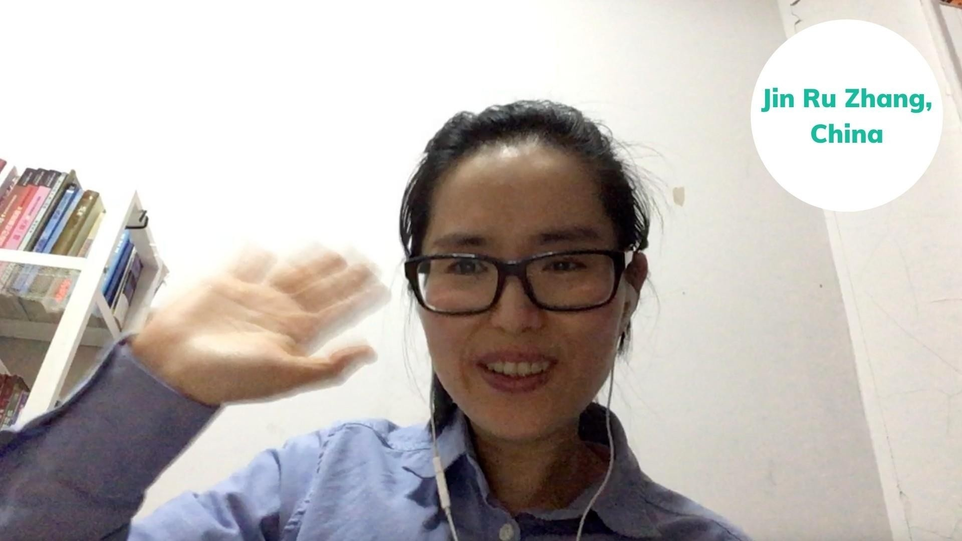 Jin from China shares her success story after joining the English-Everyday speaking course