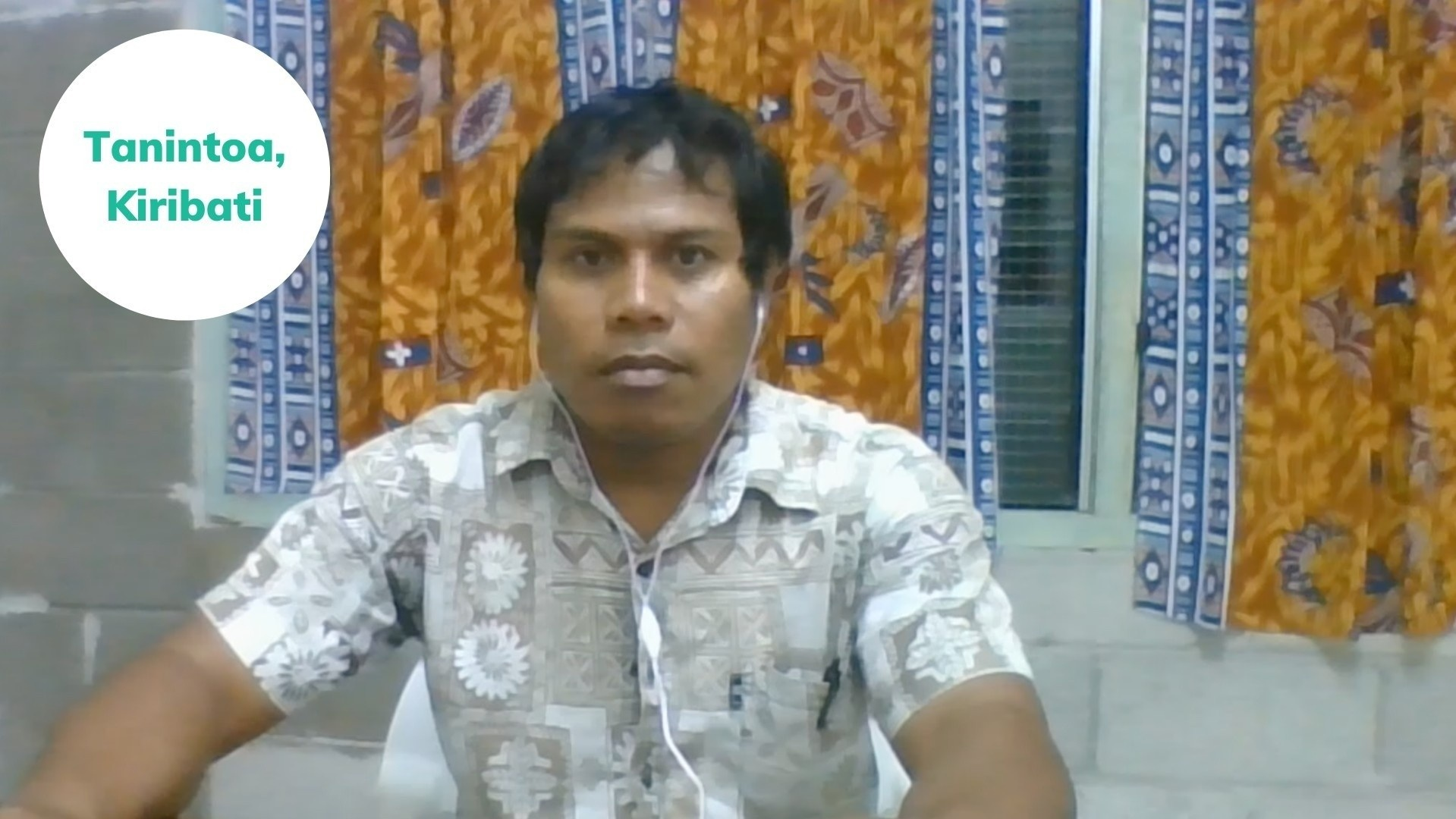 Tanintoa from Kiribati shares his success story after joining the English-Everyday speaking course