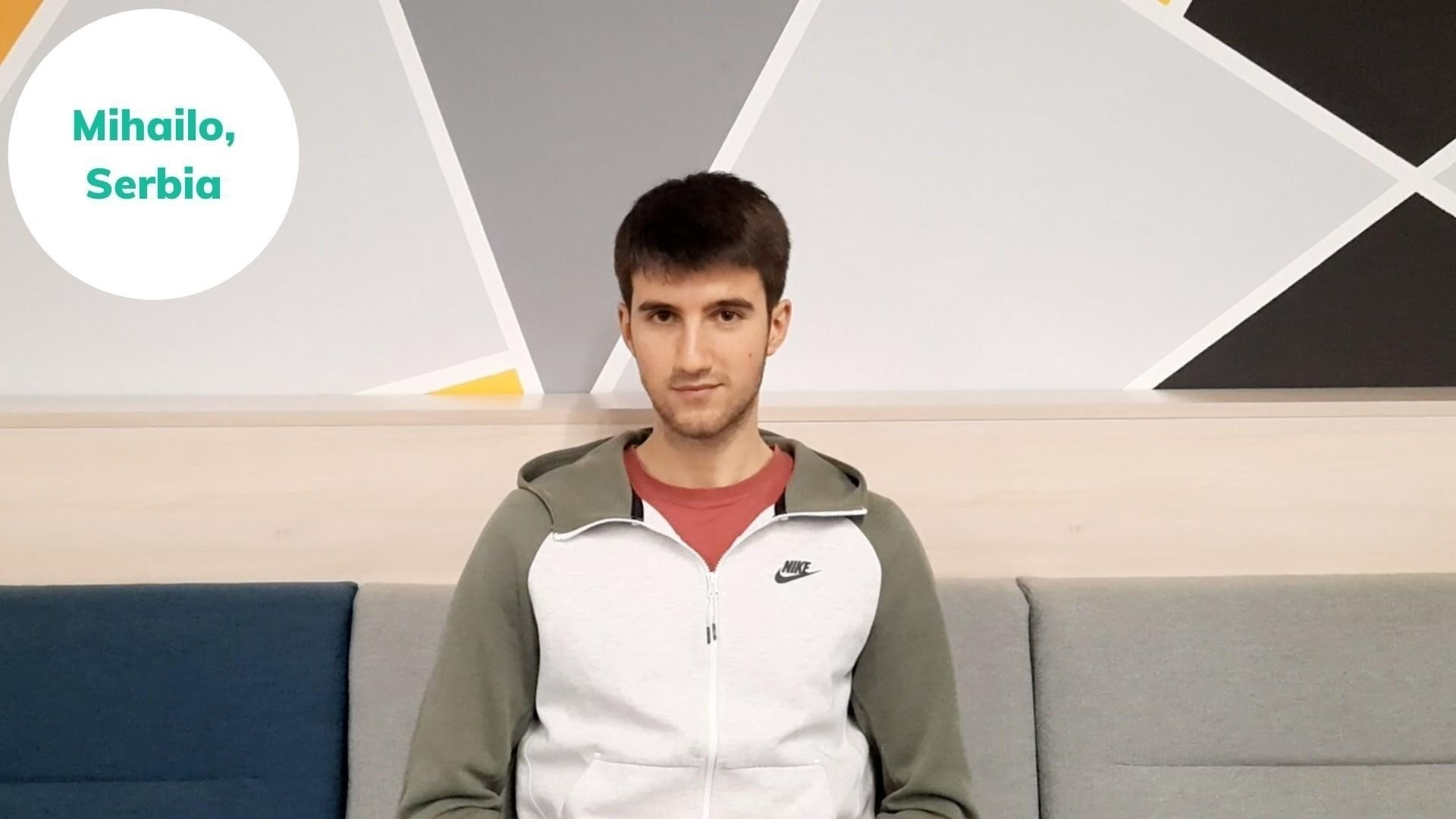 Mihailo from Serbia shares his success story after joining the English-Everyday speaking course