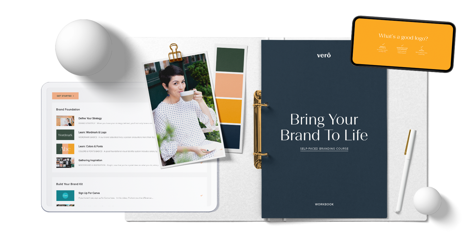 vero branding visual identity course bring your brand to life