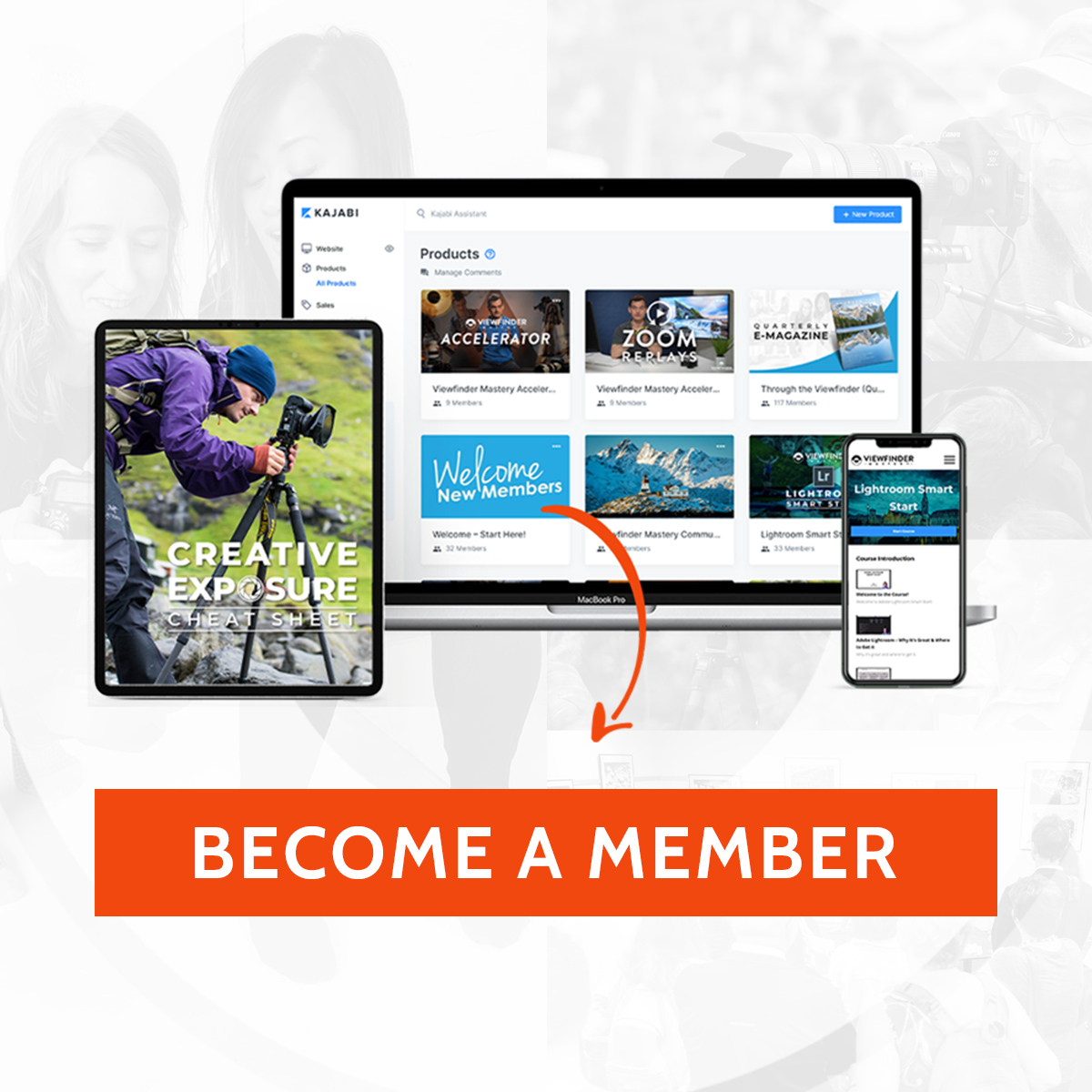 Viewfinder Mastery Become a Member