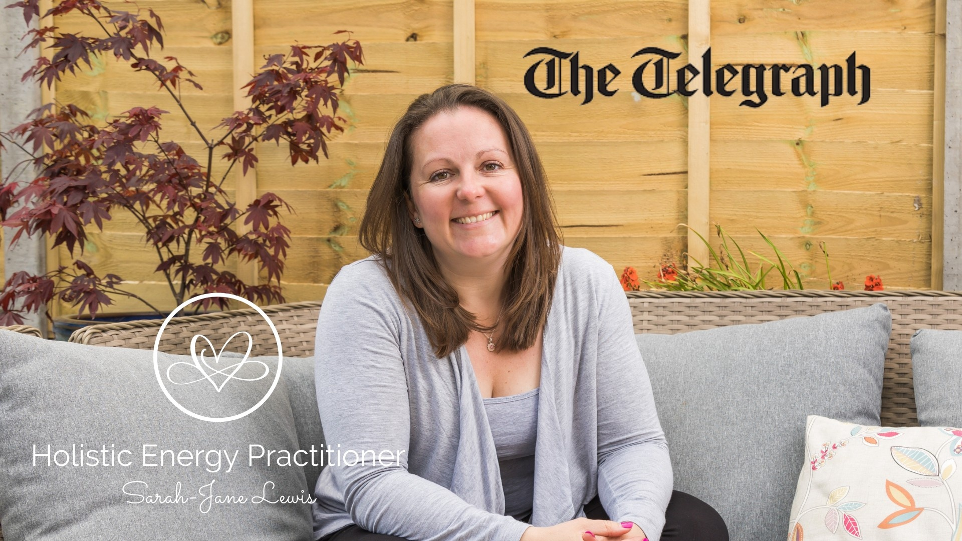 Sarah-Jane Lewis The Telegraph Holistic Energy Practitioner Woman Smiling