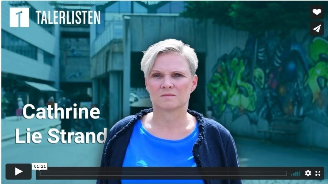 Cathrine Lie Strand, Talerlisten