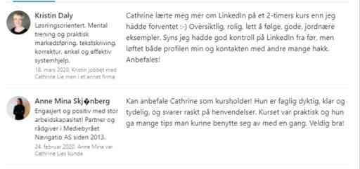 LinkedIn for coacher med Potensialbygger Cathrine Lie Strand