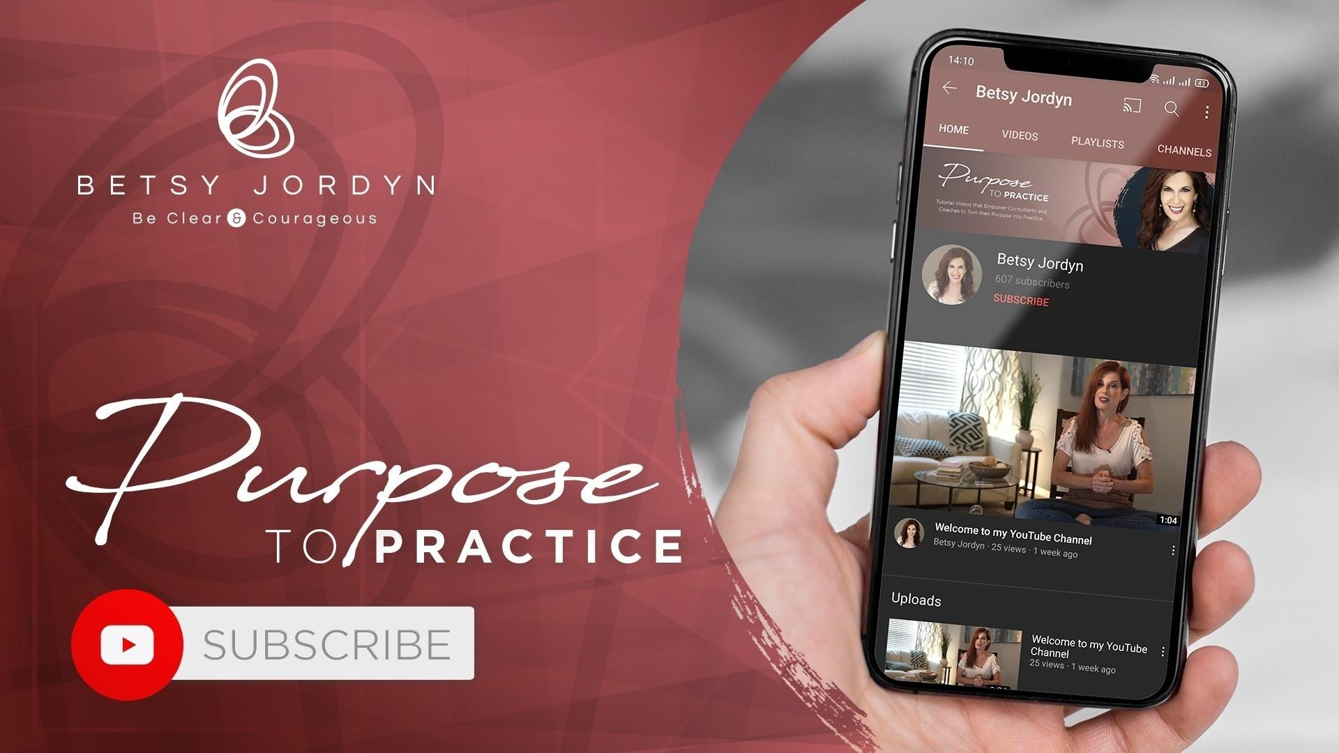 Purpose to Practice