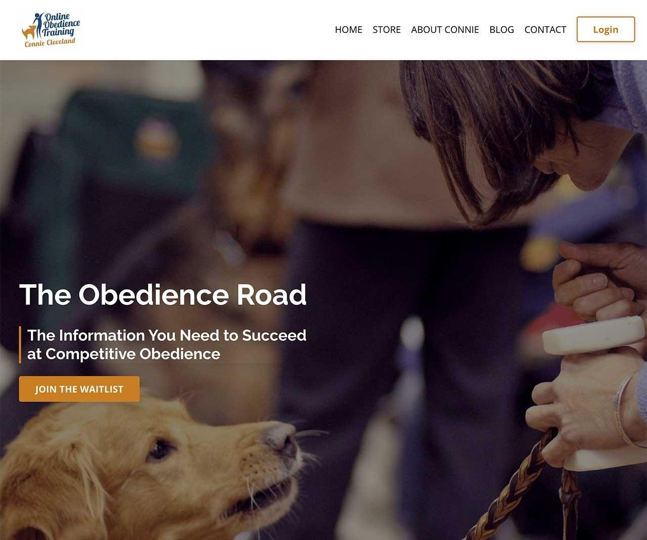 Obedience Road is built on the Kajabi Platform