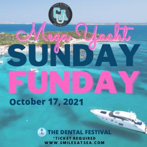 Clear Aligner University at The Dental Festival   Mega Yacht Sunday Funday