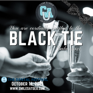 Clear Aligner University at The Dental Festival   You are cordially invited to the Black Tie Gala 2021