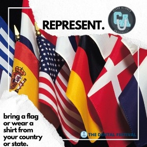 Clear Aligner University at The Dental Festival   Represent - bring a flag or wear a shirt from your country or state