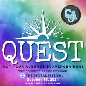 Clear Aligner University at The Dental Festival   Quest - Not your average scavenger hunt
