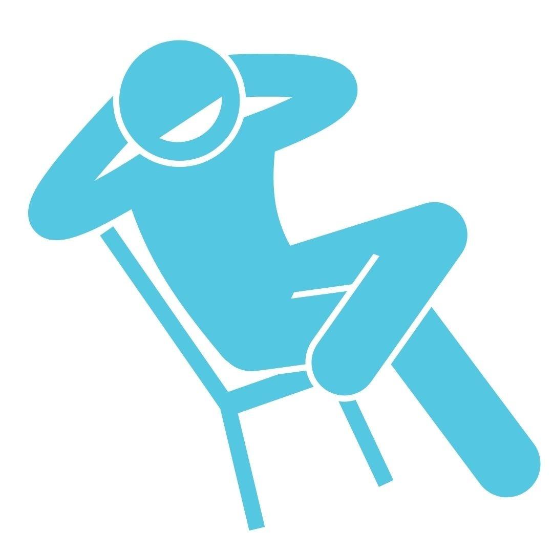 richard grannon relax on chair