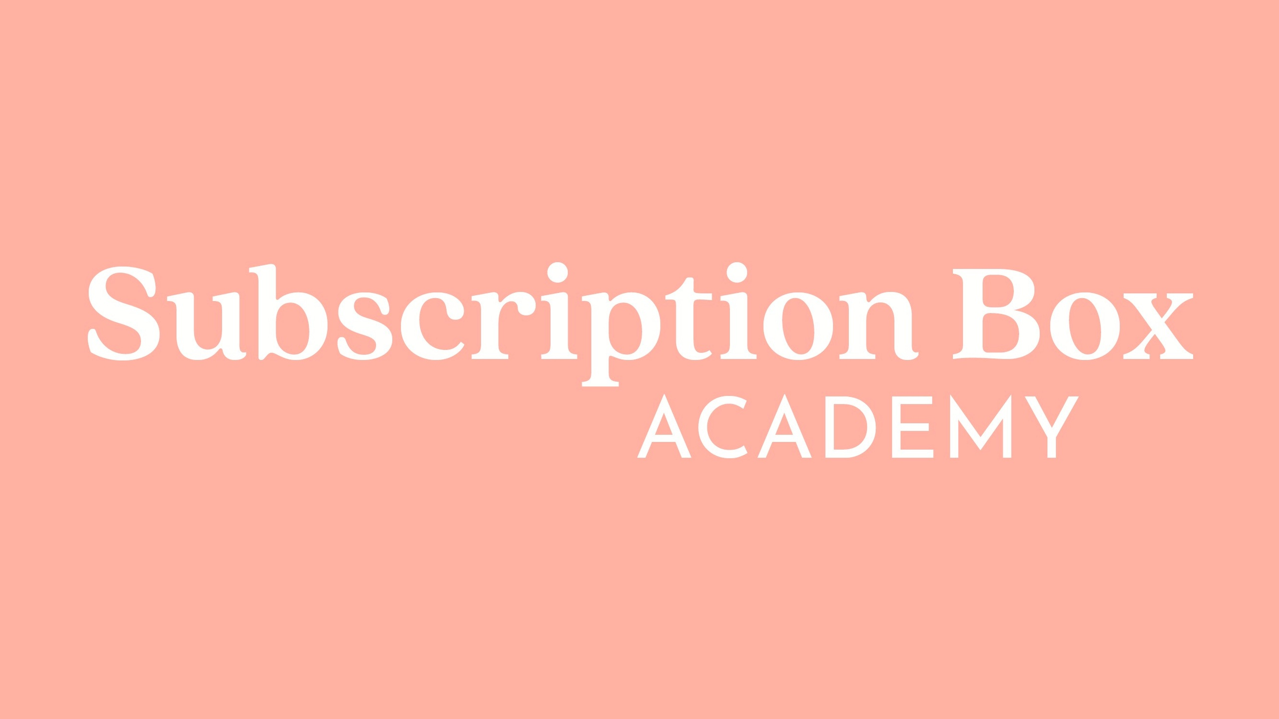 Subscription Box Academy image