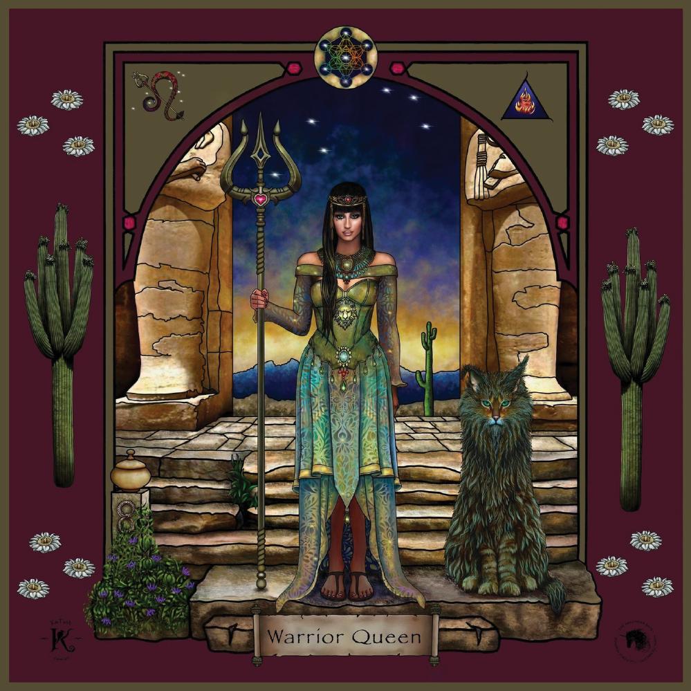 The Warrior Queen Warrioress Artwork