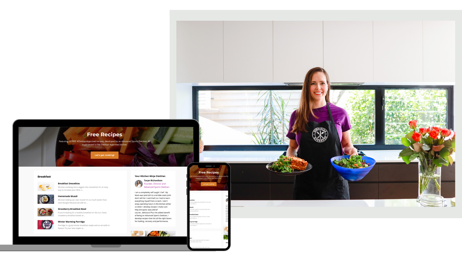 Free Dietitian Approved Recipes