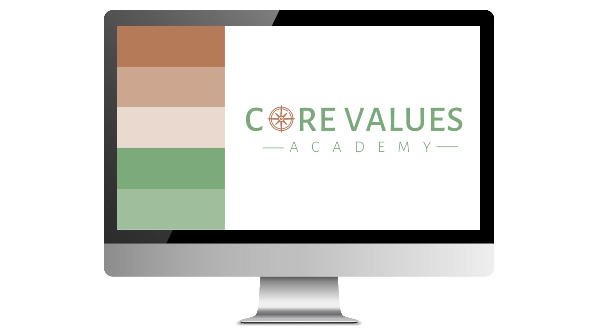 Generation Business Logo Color Scheme