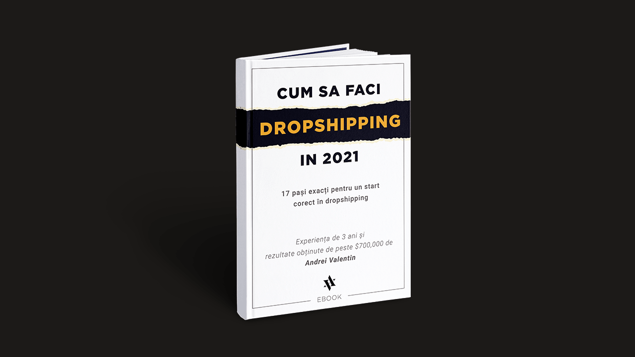 cum sa faci dropshipping in 2021 - andrei valentin