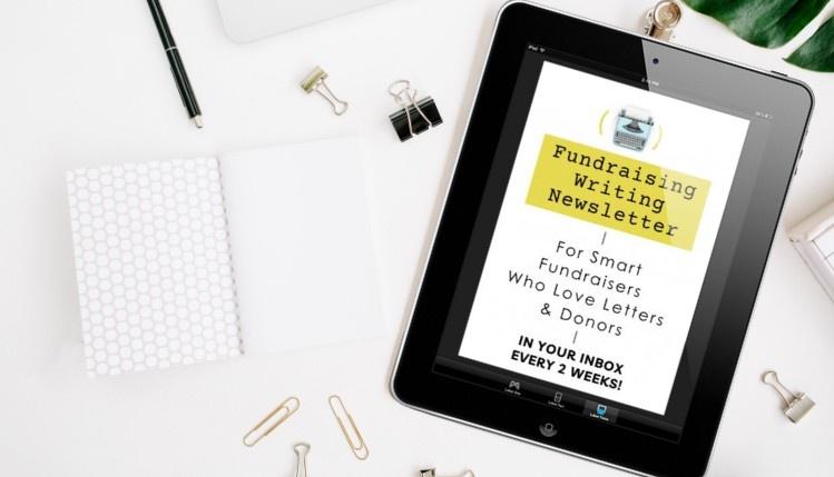 Fundraising Writing Newsletter