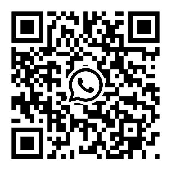 Escanea el código para mandarme un WhatsApp