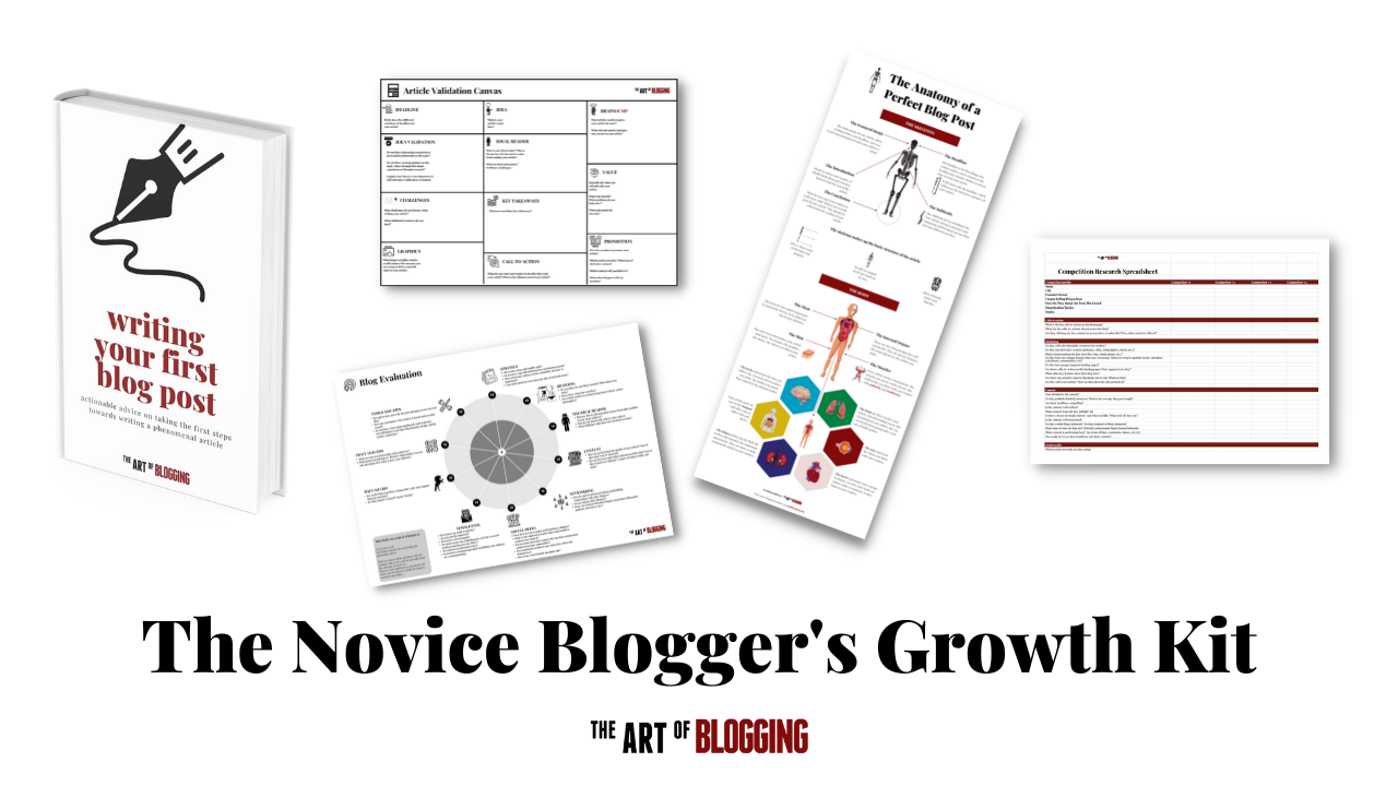 The Novice Blogger's Growth Kit