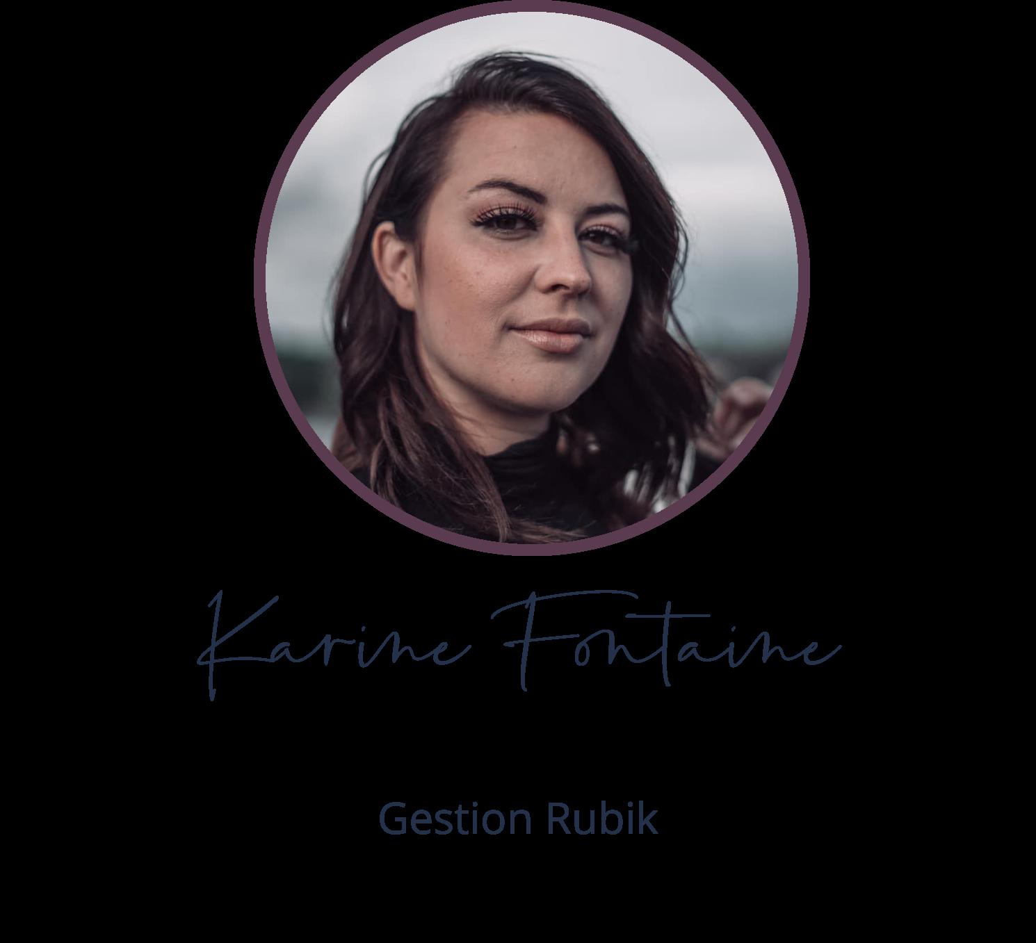 Karine Fontaine - Gestion Rubik