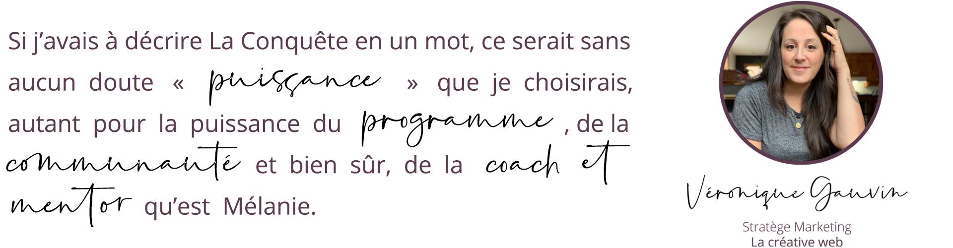 Véronique Gauvin, La créative Web