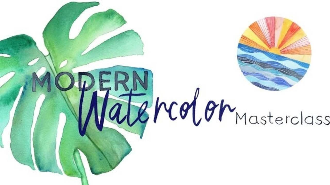 Modern Watercolor Masterclass