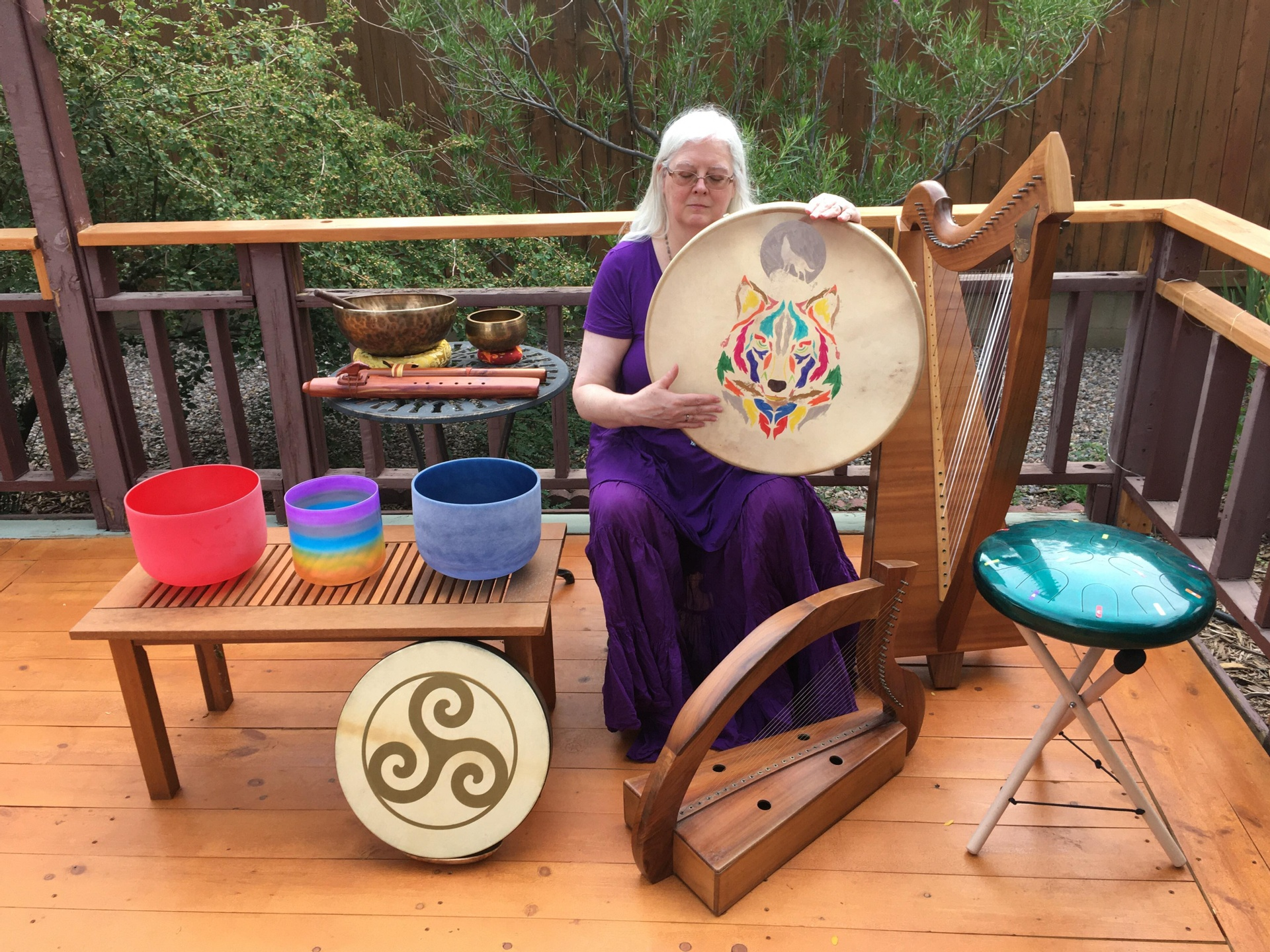 Patricia Yarrow Sound Healing in New Mexico