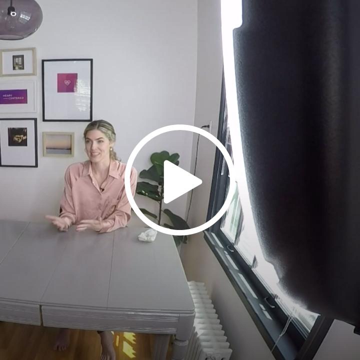 Ava Beilke being interviewed by Bryan Piatt for Kare 11 News' Mind Matters series
