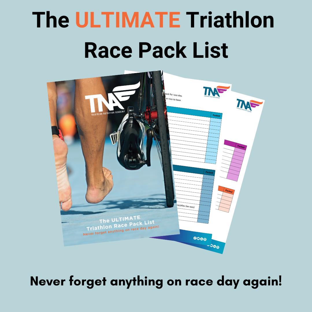 Triathlon Race Day Pack List