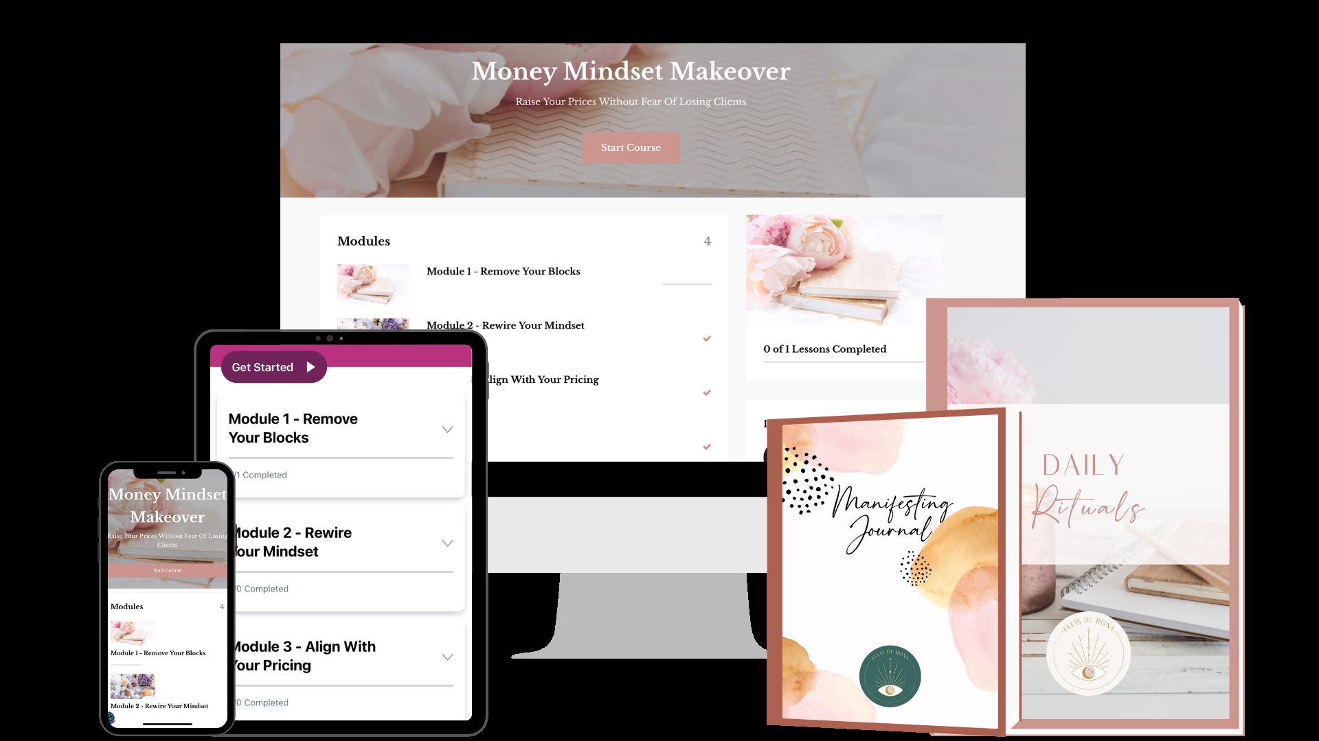 Money Mindset Makeover - Kajabi