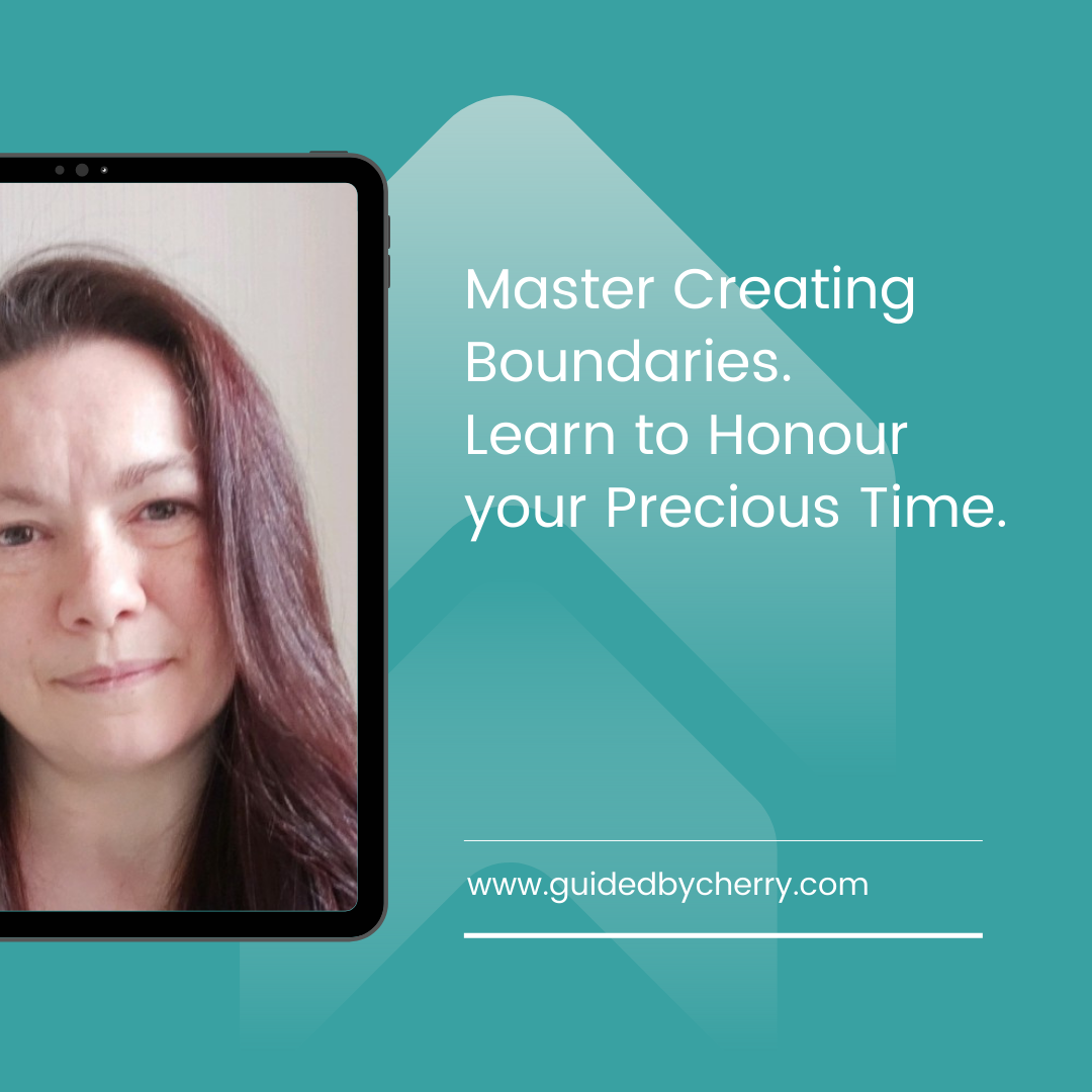 Cherry life coaching - Creating boundaries to honour your time