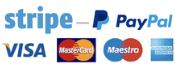 Payment gateways preview - Stripe, Paypal.