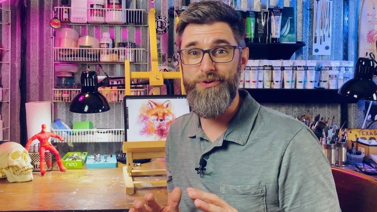 Nathan Brown - Bonus Digital Painting Workshop