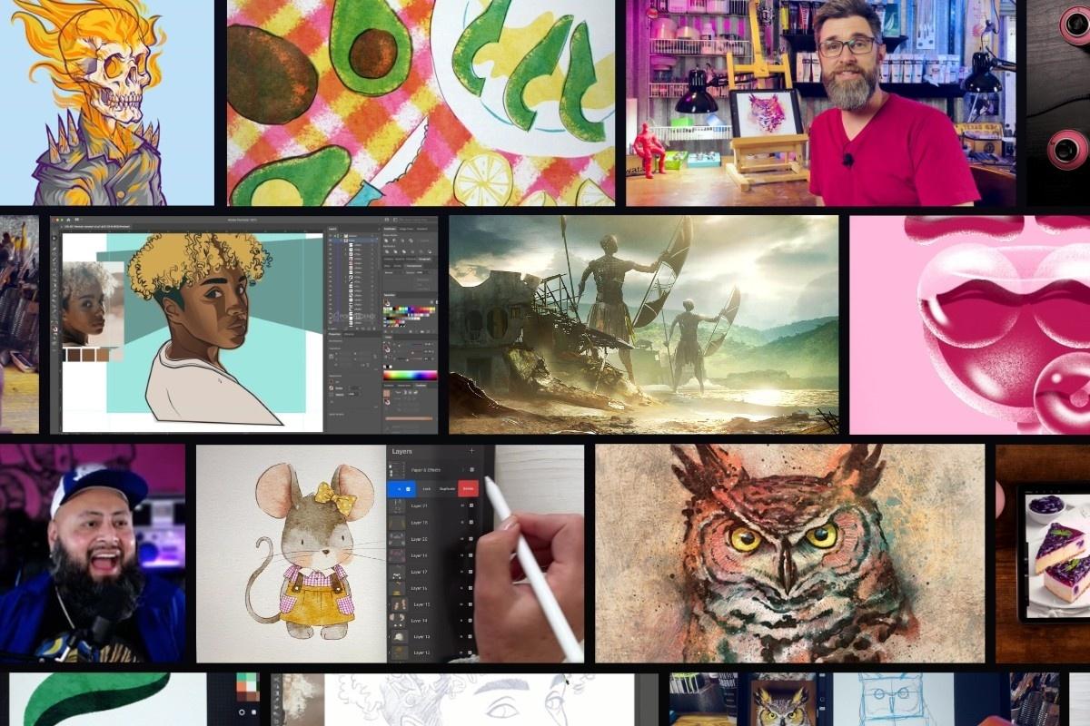 Illustration and Digital Painting Workshops
